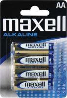 Baterie MAXELL alk. AA/R06, Blistr(4), LR06-4BP