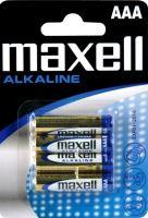 Baterie MAXELL alk. AAA/R03, Blistr(4), LR03-4BP