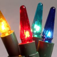 Náhradní vánoční žárovky REGIA / ASTERIA - BAREVNÉ