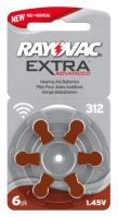 Baterie do  naslouchátek Varta Rayovac Extra Advanced 312 AUX
