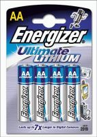 Baterie Energizer Lithium AA/R06, Blistr(4)