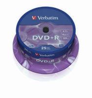 VERBATIM DVD+R 16x/4.7GB