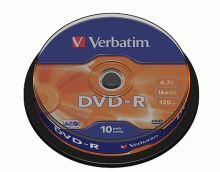 VERBATIM DVD-R 16x/4.7GB 10ks