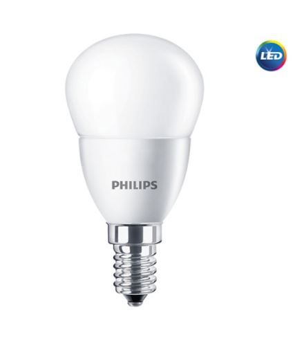 LED žárovka Philips E14 5,5-40W 2700K 230V P45 FR   P474891