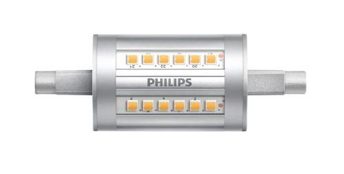 LED žárovka Philips R7S 7,5W 3000K 230V linear  P713945
