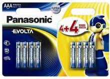 Baterie Panasonic EVOLTA alk., AAA/R03 Blistr(4+4)