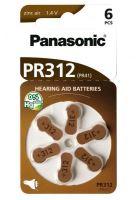 Baterie do naslouchátek Panasonic PR 312 HEP
