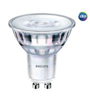 LED žárovka Philips, GU10, 5W stmívatelná, 3000K, úhel 36°  P721391