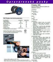 Samovulkanizační silionová páska opravárenská 25/3  POLYTEX 550