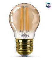 LED žárovka Philips E27 Vintage Classic D P45 5-32W SRT4 E27 2200K GOLD