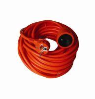 Prodlužovací přívod - spojka, 1zás. 25m, 3 x 1,5mm2, oranžová, kabel PVC   PR01125