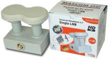Konvertor LNB MASCOM MC M4-S01HD Monoblock SINGLE