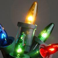 Vánoční žárovky 20V - KRYSTAL - BAREVNÉ