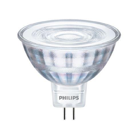 LED žárovka Philips, MR16, 5W-35W, 4000K, úhel 36°
