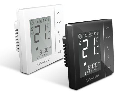 Termostat programovatelný digitální týdenní bílý 230V  SALUS VS30W