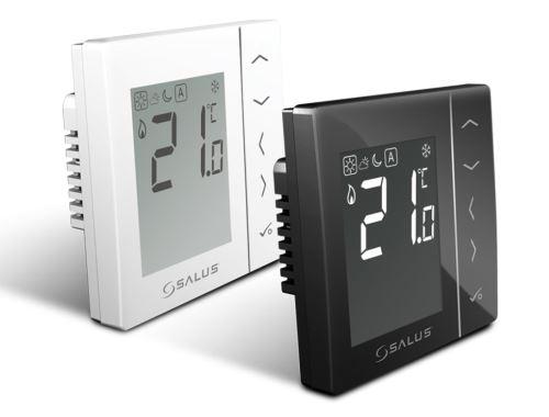 Termostat digitální manuální bílý 230V  SALUS VS35W