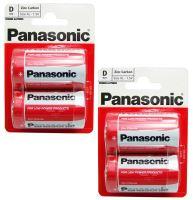 Baterie Panasonic Special power R20, Blistr(2)