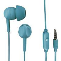 Thomson sluchátka s mikrofonem EAR3005, silikonové špunty, tyrkysová  132483