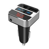 Solight FM transmitter s bluetooth připojením do auta, 2x USB + handsfree  BT02