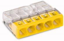 WAGO svorka 5x2,5 žlutá průhledná   2273-205