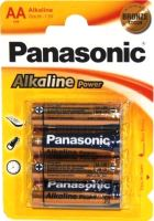 Baterie Panasonic Power alk., AA/R06 Blistr(4) Bronze
