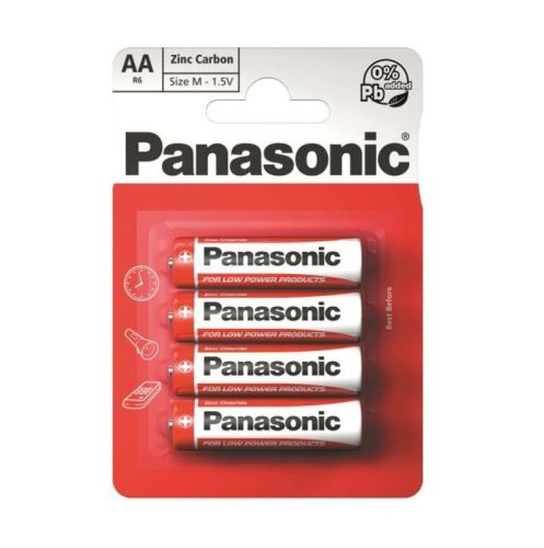 Baterie Panasonic Special, AA/R06, Blistr(4)