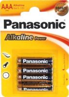 Baterie Panasonic Power alk., AAA/R03 Blistr(4) Bronze