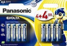 Baterie Panasonic EVOLTA alk., AA/R06 Blistr(4+4)