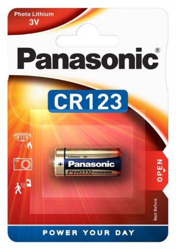 Baterie Panasonic CR123A 3V