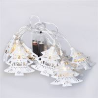 Solight LED stromky řetěz, bílé, 10LED, teplá bílá, 2x AA  1V225