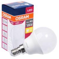 LED žárovka Osram E14 5,5W 2700K 230V P45 FR