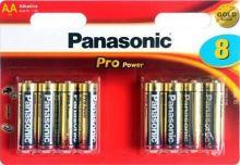 Baterie Panasonic Pro Power alk., AA/R06 Blistr(8)