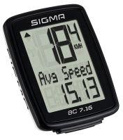 Cyklocomputer SIGMA BC 7.16 se 7 funkcemi