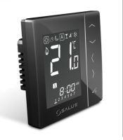 Termostat programovatelný digitální týdenní černý 230V  SALUS VS30B