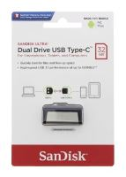 Flash paměť SanDisk Ultra Dual USB-C Drive 32 GB