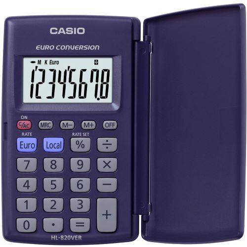 Kalkulačka CASIO HL 820, zavírací, základní