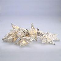 Solight LED vánoční hvězdy pletené 10LED, teplá bílá, 2x AA  1V203