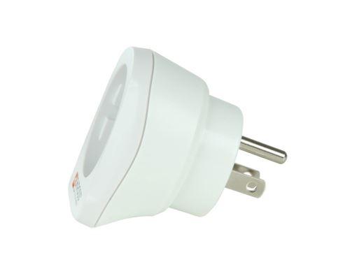 Cestovní adaptér pro použití v USA, bílý, SKROSS   PA29