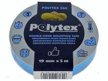 Páska lepící pěnová oboustranná montážní 19/5  POLYTEX 560