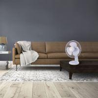 SOLIGHT ventilátor stolní 1S21 30cm bílý