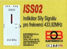 ELEKTROBOCK Indikátor síly signálu pro frekvenci 433,92MHz   ISS02