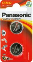 Baterie Panasonic CR2032, blistr 2ks, Lithium