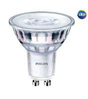 LED žárovka Philips, GU10, 4W stmívatelná, 4000K, úhel 36°  P730225